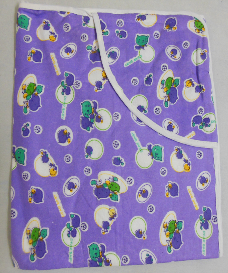 100% Cotton Flannel Baby Blankets<br/>Size - L and XL